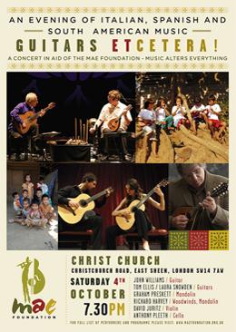 Guitars Etcetera Concert
